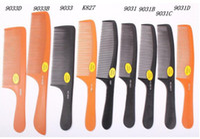 bakelite comb - Anti static comb ultra thin hair cut comb bakelite comb can high temperature
