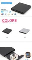 Wholesale brand new USB Blu ray Burner External Blu Ray writer for Desktop laptop netbook