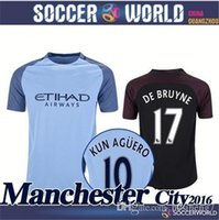 Wholesale Best thailand quality manchesteers soccer Shirts city de bruyne sterling silva MCN3