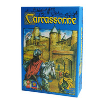 Wholesale The Carcassonne clever tile laying game to players Board Game Party Games for family fun toys for kids