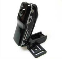 Wholesale MD80 Mini DV Camcorder DVR Video Camera Webcam Support GB NOT included HD Cam Sports Helmet Bike Motorbike Camera Video Audio Recorder
