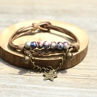 adorn weaves - 2016 new fashion original hand woven Sen series ceramic bracelet national wind small adorn article gift preferred