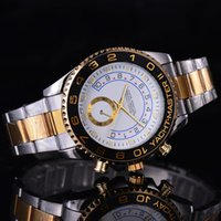 automatic calendar clock - Automatic date Men s and women Role watch fashion luxury steel belt movement saw the of quartz clock watch drop shipping