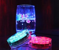 Wholesale Hot Selling Multi Color Submersible LED Light Party Lamp Underwater W Remote Control Best Quality