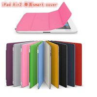 Wholesale Smart Cover Table Holder - PU Leather Case Smart Cover Sleep work with Stand Holder Protection Table PC For ipad Air ipad 2 3 4 5 ipad mini