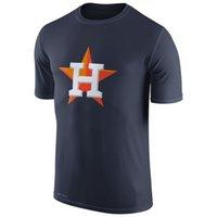 astros t shirts - 2016 New MLB Men Houston Astros Navy Authentic Collection Legend Logo Performance T Shirt Orange MLB Baseball T Shirts