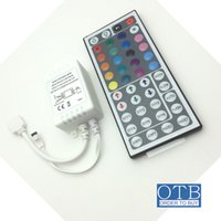 Wholesale LED strip light RGB key IR Remote Controller module colors changing holiday scene lighting