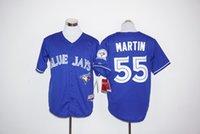 Wholesale Toronto Blue Jays Baseball Jerseys Kevin Pillar Jose Bautista Josh Donaldson Russell Martin th Anniversary
