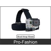 Wholesale Head Strap Mount Belt Elastic Headband For GoPro Go PRO HD Hero Camera