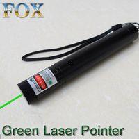 Wholesale FOXLaser Flashlight Green laser pointer nm Focusing Point contingent matches Laser pen Irradiatio meters