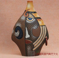 Wholesale 05 European small ceramic ornaments wedding gift wine porch Decor furnishings Home Furnishing crafts pottery