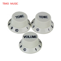 Wholesale Speed Knobs Guitar Parts Volume Tone V2T Speed Knobs Control Buttons Replacement Guitar Parts Yellow