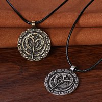 astrolabe necklace - zodiac pendant necklace astrolabe inclinometer astrology vintage zodiac pendant necklace christmas gift