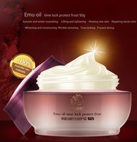 Wholesale QYANF Emu Oil Anti Wrinkle Cream Imported Raw Materials of Korean Cosmetics Skin Care Anti Aging Wrinkle Firming Face Cream