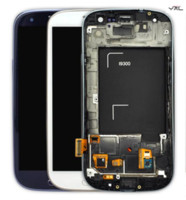 home goods - good cheapest from china factory For Samsung Galaxy SIII S3 I9300 LCD Display with frame home button with logo Free DHL Shipping