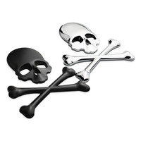 auto parts windshield - Auto Metal Cover Truck Part D Skull Metal Car Motorcycle Sticker Label Skull Emblem Badge Car Styling Sticker Accessories Decal