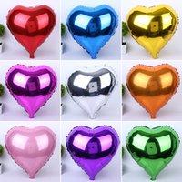 balloon weddings - High Quality heart shaped balloons love foil balloon for weddings cm mixed colors helium balloons