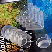 Wholesale Transparent spherical baby safety impact angle protection table corner collision protection cover baby thickening angle manufacturers wholes