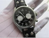 aviation suppliers - Factory Supplier NEW mm American KHAKI FEILD NAVY AVIATION H60416533 CHRONOGRAPH AUTOMATIC men WATCH antimagnetic sapphire crystal
