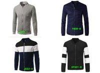 baseball cross stitch - HOT Men Fall Men s Slim jacket coat young Korean fashion personality baseball stitching clothes MEN JACKETJ027