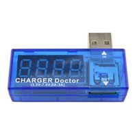 battery capacity analyzer - USB Volt Current Voltage Doctor Charger Capacity Tester Meter Power Bank battery Analyzer