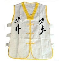 Wholesale New Beautiful White Color Shaolin Monk Uniform Sleeveless Vest Martial arts Wushu Kung fu Suit
