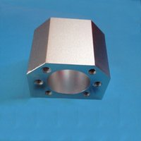 ball nut housing - set DSG16H ball nut housing bracket holder aluminium inner hole mm use for ball screw SFU1604 SFU1605 SFU1610