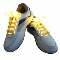 Cheap Party Skating Charming LED Flash Light Up Glow Shoelaces Shoe Laces Shoestrings