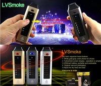2016 prix d'usine digital vaporisateur à base de plantes cigarette électronique lvsmoke vaporisateur d'herbes seche contrôle tactile herb vaporisateur de cuisson