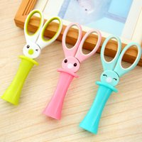 Wholesale Ann cute cartoon multi purpose office scissors students diy paper cutting knife stainless steel scissors