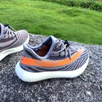 baby golf shoes - Multitude of Boost V2 colorway New Sply Shoes for kids baby children and youth Kanye West running shoes with box
