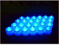 Wholesale Halloween led candles Battery operated Flicker Flameless LED Tealight Tea Candles Light Wedding Birthday Party Christmas Decoration