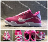 overseas - 2016 Kobe XI Elite Low BHM Basketball Shoes For Men Outdoor Sport Kobe Elite Overseas Pink Basketball Sneakers Size