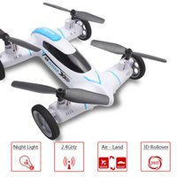 Wholesale Syma X9 Mini Drone Air Land Dual Mode RC Flying Car Quadcopter G CH Axis Speed Switch With D Flips VS Syma X5 X5C X5SW zz