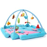 Wholesale baby Cartoon style blankets super soft baby blanket game pad crawling mat Toys Baby Rugs Playmats