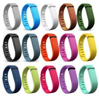 Wholesale 2016 Fitbit Flex Band With Clasp Replacement TPU Wrist Strap Wireless Activity Bracelet Wristband With Metal Clasp No Tracker Opp Package
