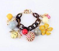bee rings - Jewelry Bee flower bracelet Women Bracelet