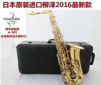 Wholesale Japan Yanagisawa Electrophoresis Gold Sax Eb Alto Saxophone W01 A Professional Brass Instruments Music Alto Saxofone E Flat