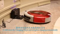 area sensors - 2016 Vacuum Cleaner mop robot with Newest Innovations Auto Virtual Wall Restricting Off limit Areas Voice anticollision Demonstration Sensor