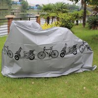 Wholesale 2016 High Quality Outdoor Scooter Bike Motorcycle Rain Dust Cover Waterproof Protector for Bike Bicycle Cycling