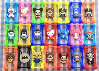 Wholesale Universal Phone Case D Cartoon Minions Rubber Silicone Phone Bumper Cover For iPhone S Plus