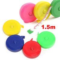 Wholesale Fashion Pc Retractable Ruler Tape Measure Sewing Cloth Dieting Tailor m cm