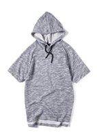 apc fashion - 2016Kanye West pullover half sleeve sweatshirt apc kanyewest hoodie Kanye West for A P C short sleeve hooded sweatshirt Hoody