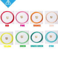 Wholesale High Quality Colours D Printer Filaments plastic Rubber Consumables Material ROHS certified mm ABS PLA Optional
