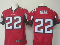 white falcon - 2016 NEW Draft Keanu Neal Falcons red white black Elite Football Jerseys for Men Mix Order