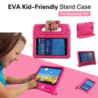 7.0 inch - EVA Kid Friendly Stand Case for Samsung Galaxy Tab E Tab inch Casual Fashion Shockproof Colors With Opp Bags