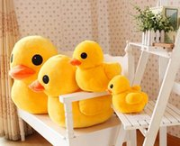 Wholesale Creative Rhubarb Duck Plush Toys Large Doll Girlfriend Birthday Christmas Present in the New Year