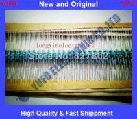 Envío libre 1000pcs Watt 680 Kohm <b>Metal Film Resistor</b> 1% 0.25W luz película paquete de resistencia 1 / 4W