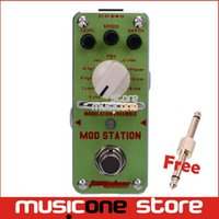 ams digital - New AROMA AMS MOD STATION Classic Modulation Effects Mini Digital Effect True Bypass Free Connector