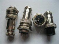 al por mayor conectores xlr 16mm-20 PC XLR Conector de cable de audio 2 Pin 16mm Chasis Moun cable impermeable conector de televisión por cable metros de nivel de señal